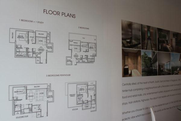 Floor Plans Poster