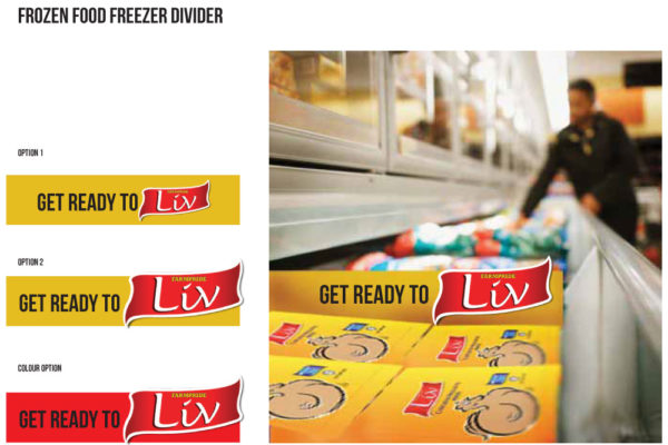 Frozen Food Freezer Divider